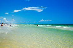 Budget Travel Ideas: Mustang island beach via http://shoestringaustin.com/