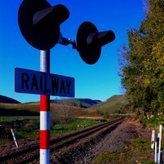Railway crossing outside Havelock North Havelock North, Air New Zealand, Heartland, The Outsiders