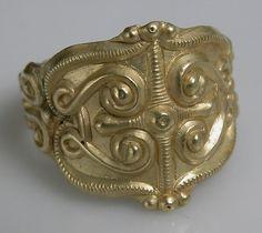 Celtic Gold Ring, 4th–5th Century BC