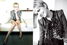 Michelle Williams really rocks this haircut. She is lovely and such a gifted actress, too.