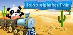 Lola's Alphabet Train #android #educación