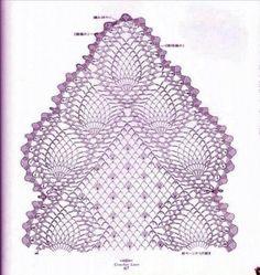 crochet pineapple motifcrochet pineapple motif rere