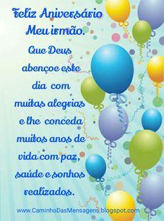 Caminho das Mensagens: Aniversário, Irmão - 3106 Jesus Wallpaper, Happy Birthday Images, Happy B Day, Birthday Wishes, Congratulations, Lily, Entertaining, Iphone, Google
