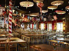 Junibackens circus restaurant in Sweden