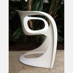 1970s Casalino Chair White now featured on Fab.  These are my dining room chairs, for real :)