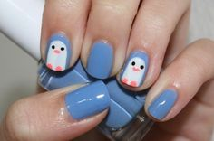 nail  cute, need a super white, white (almost like white out)....also big nails are good to fit in the details
