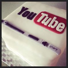 YouTube themed cake                                                                                                                                                     More