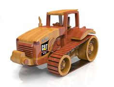 Cat Challenger MT865 by Lloydswoodtoyplans on Etsy