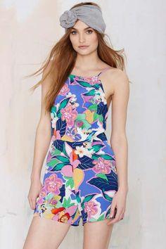 Yumi Kim McKenzie Floral Romper