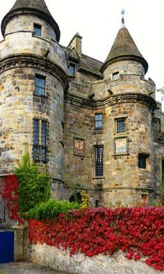 Medieval, Falkland Castle, Fife, Scotland photo via leilani