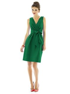 Alfred Sung Style D597 http://www.dessy.com/dresses/bridesmaid/d597/?color=fresh&colorid=502#.Vbfjm5NViko