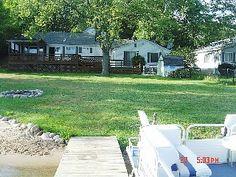 Waterfront yard - Delton/Gun Lake house vacation rental photo