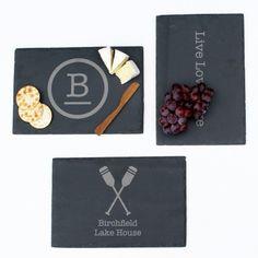 Personalized Slate Cheese Board