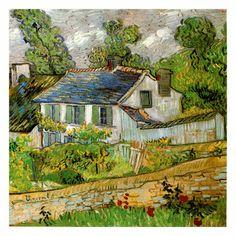 Maison a Auvers - Van Gogh (art.com)