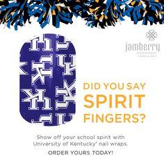 #UniversityOfKentuckyJN #JamberryCollegiate #JamberryNailWraps