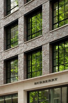 Brick Facade, Brick Wall, Brick Building, Brick And Stone, Brickwork, Burberry, Loft, Boutique Hotels, London