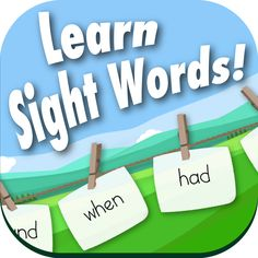 Sight Word Recognition is a great game for a child just beginning to learn sight words or that is having difficulty remembering certain sight words.  It does this by showing your child four random sight words and ask them to pick correct one.  They can study the same pre-primer, primer, first, second, third grade and noun lists they use in class.  Your child earns a point for each one they get right.  They need to complete all 7 levels to win. Available for Android and IOS.