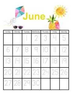 Traceable Calendars for September 2020-August 2021