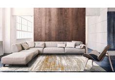 Dywany Mad Men :: Dywan naturalny vintage 8419 ColumbusGold - brązowo beżowy - Carpets&More - wysokiej klasy dywany i akcesoria tekstylne