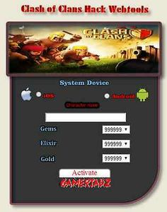 CLASH OF CLANS ONLINE HACK