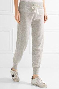 Light-gray wool, viscose, nylon and cashmere-blend Pull on 45% wool, 30% viscose, 15% nylon, 10% cashmere Dry clean Imported
