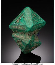 Malachite Pseudomorph after Cuprite - Chessy Copper Mines, Chessy-les-Mines, Le Bois d'Oingt, Rhône, Rhône-Alpes, France Size: 2.79 x 2.19 x 1.59 cm