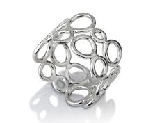 Bubble silver ring by LiatWaldmanJewelry on Etsy, $85.00