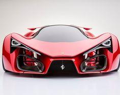 Ferrari F80 Concept Car by  Adriano Raeli, supercar in 2020?