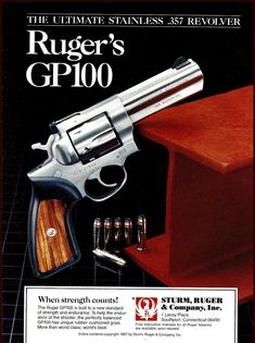 Commercial Art: A Look at Classic Firearms Print Ads - Part 4 - The Truth About Guns Home Defense, Self Defense, Ruger Revolver, Hunting Guns, Commercial Art, Cool Guns, Guns And Ammo, Concealed Carry, Print Ads