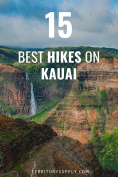 Kauai is the Hawaiian Island that hiking enthusiasts love the most for its unspoiled beauty and secluded hikes. Discover the 15 best hiking trails on Kauai for your next outdoor adventure in Hawaii. Best Hiking Gear, Hiking Tips, Hawaii Adventures, Outdoor Adventures, Adventure Awaits, Adventure Travel, Hawaii Hikes, Hawaii Travel Guide