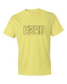 H2RO Outline Logo Mens Tee Shirt