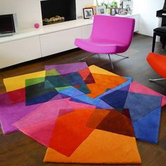 I LOVE this! It would be great in an art studio or kids play room!