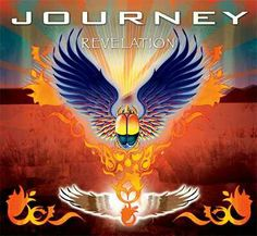 """Journey released today their latest album called """"Revelation"""" featuring lead singer Arnel Pineda. The CD set contains 11 new songs, 11 re-recorded old classics,and a DVD of Journey… Banda Journey, Journey Band, Journey Logo, Journey Music, Musica Disco, Musica Pop, Playlists, Journey Albums, Neal Schon"""
