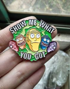 Rick and Morty Show Me What You Got Hat Pin by RedReaperDesigns 10.00 USD http://ift.tt/1ITvvjx