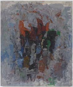Philip Guston ~ The Clock ~ 1956-1957 ~ Olieverf op doek ~ 193,1 x 163 cm. ~ Museum of Modern Art, New York ~ Schenking van mrs. Bliss Parkinson ~ Philip Guston ~ Dial ~ 1956 ~ Olieverf op doek ~ 182,9 x 194 cm. ~  Whitney Museum of American Art, New York ~ © 2016 The Estate of Philip Guston