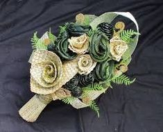 Bridal Bouquets - Fabulous Flax Bouquets and Arrangements for Weddings and Special Occasions Wedding Bouquets, Wedding Flowers, Flax Flowers, Decorating Your Home, Floral Arrangements, Special Occasion, Hand Weaving, The Originals, Crochet