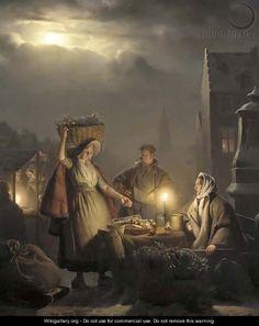 Petrus Van Schendel Romanticismo desde Holanda