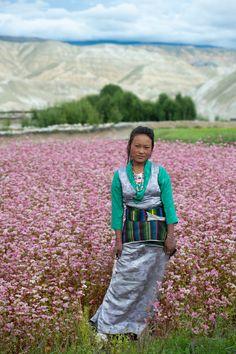 Girl - Upper Mustang, Nepal