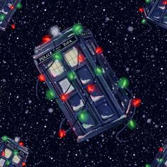 TARDIS CHRISTMAS!