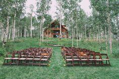 Woodland ceremony: http://www.stylemepretty.com/utah-weddings/park-city/2015/04/09/rustic-park-city-wedding/ | Photography: Carla Boecklin - http://www.carlaboecklin.com/