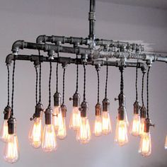 Steam punk style chandeliers