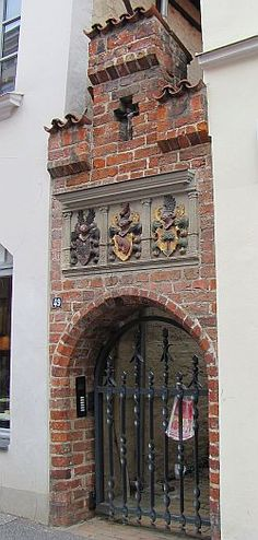 Lübeck: Gang, Glockengießerstraße