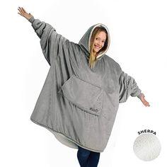 Super flauschig und wie erwartet KLASSE !  Bekleidung, Herren, Sweatshirts & Kapuzenpullover, Kapuzenpullover Sweatshirts Online, Hooded Sweatshirts, Hoodies, Sweat Shirt, Manta Polar, Comfy Blankets, Wearable Blanket, How To Get Warm, Shopping
