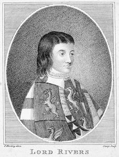 Sir Richard Woodville 1st Earl Rivers.  2nd Husband of Jacquetta of Luxembourg