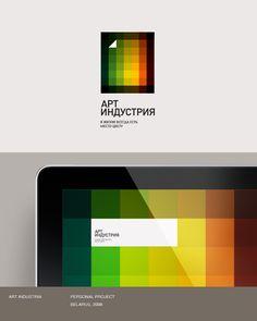 Art Gallery Logo with Grid, http://hative.com/art-gallery-logo-with-grid/,