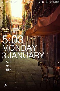 Windows Phone 7 Inspired iPhone theme