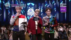 Jimin and Jin as MCs with Key on MCOUNTDOWN ❤ #BTS #방탄소년단
