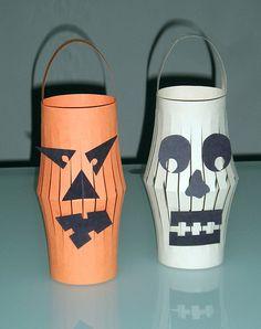 Halloween Lanterns by Carlos N. Molina - Paper Art, via Flickr