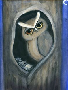 'Little Owls and the Moon' by Debbie Styer