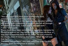 Can't believe they didn't put this in the movie. City of Bones